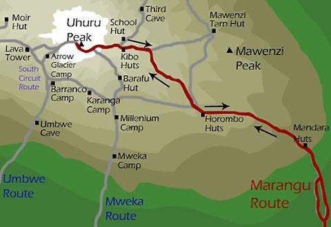 Trek Kilimanjaro, voie Marangu 1 trek kilimanjaro voie marangu1