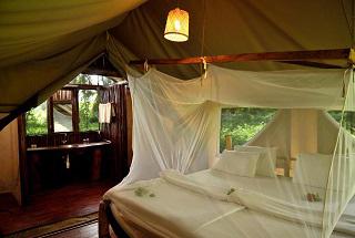 tanzanie migunga tented camp