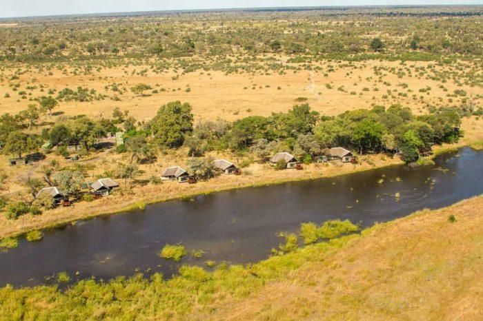 Lagoon Camp 1 botswana lagoon camp1