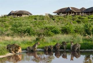 Lodges Maun Mashatu Central Kalahari 5 botswana tau pan camp0
