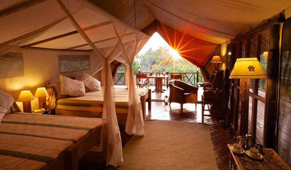 Lodges Selous 1 tanzanie du sud rufiji river camp0