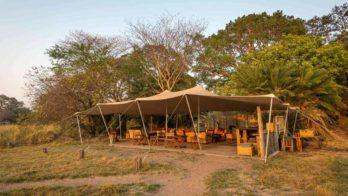 Busanga Bush Camp 1 zambie busanga bush camp1