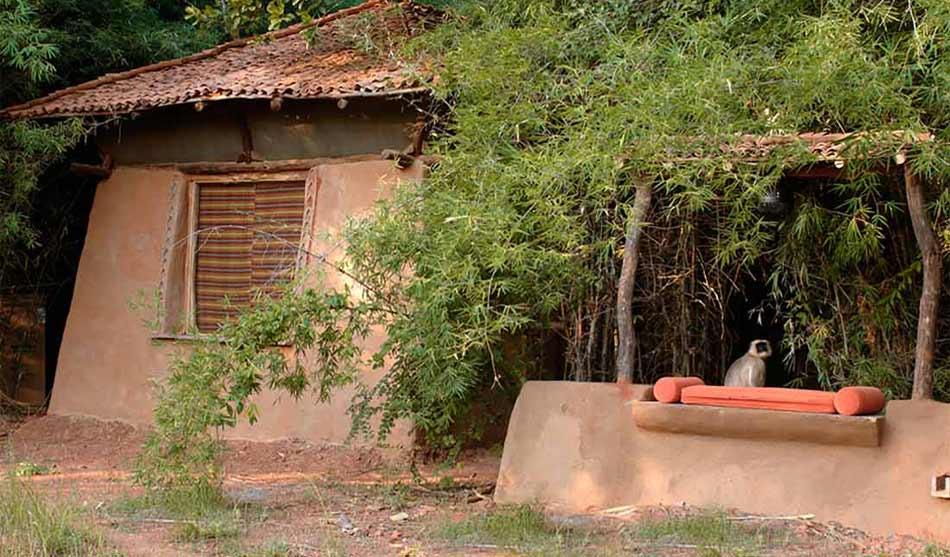 Lodges Réserve de Banghavgarth, Pench et Khajuraho 3 inde mahua kothi0