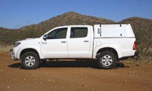 Véhicules de location Namibie 3 namibie categorie2 toyota hilux