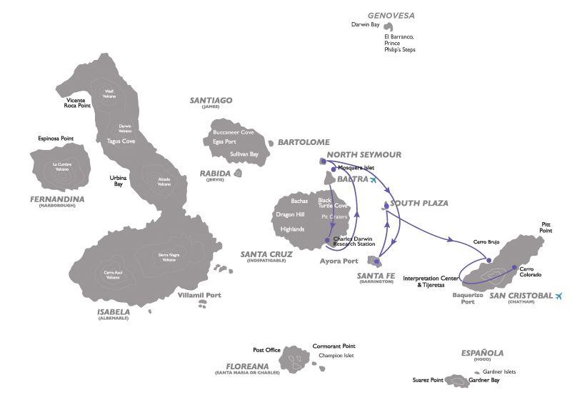 Croisière aux Galapagos 3