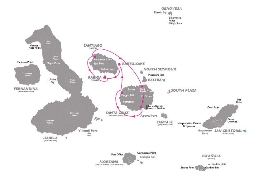Croisière aux Galapagos 1