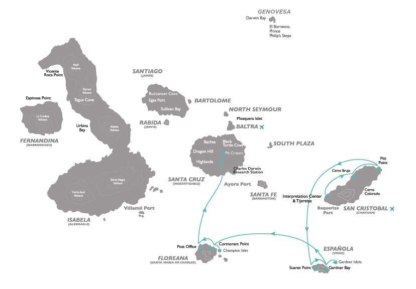 Croisière aux Galapagos 4