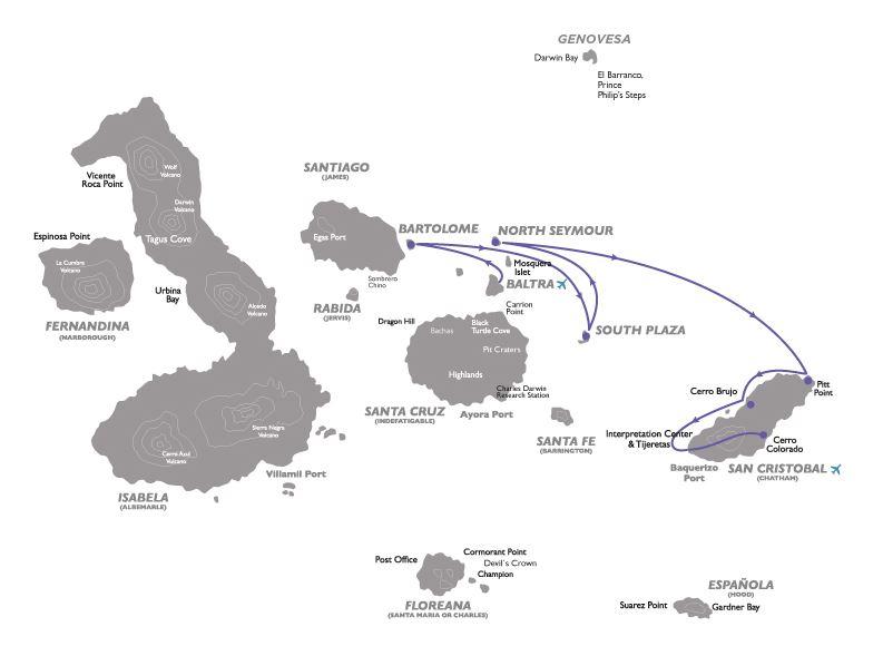 Croisière aux Galapagos 7