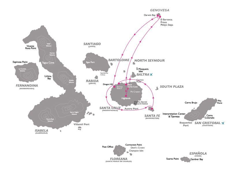 Croisière aux Galapagos 5 equateur gogalapagos legend north