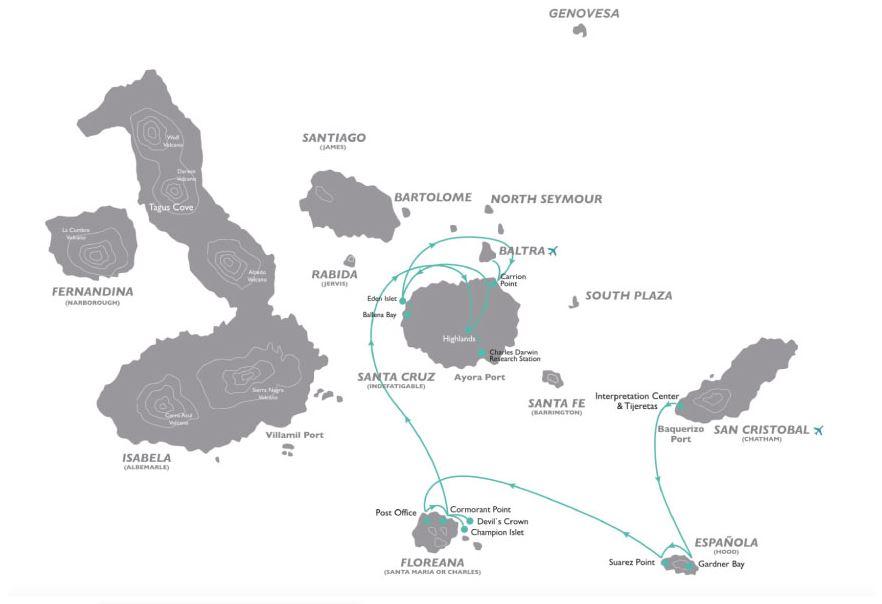 Croisière aux Galapagos 8 equateur gogalapagos legend sud