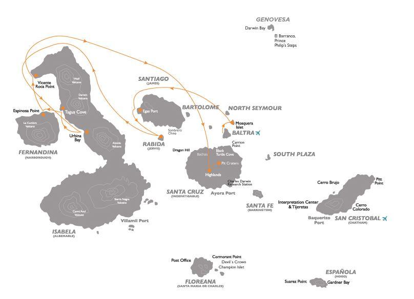 Croisière aux Galapagos 6 equateur gogalapagos legend west