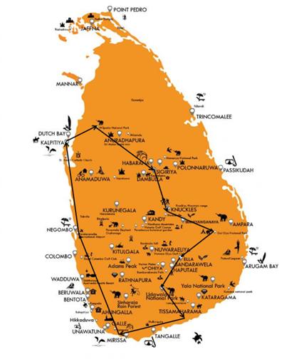 Sri Lanka, entre nature, culture et vie sauvage 1 Sri Lanka